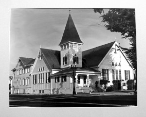 Original Church at 3rd and San Antonio